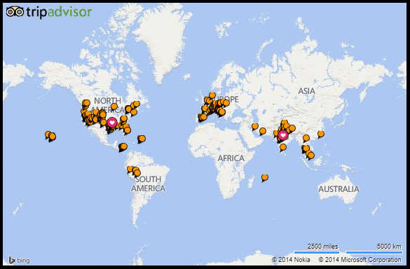 Countries visited happy travelling feet tripadvisor travel mapv1border gumiabroncs Image collections