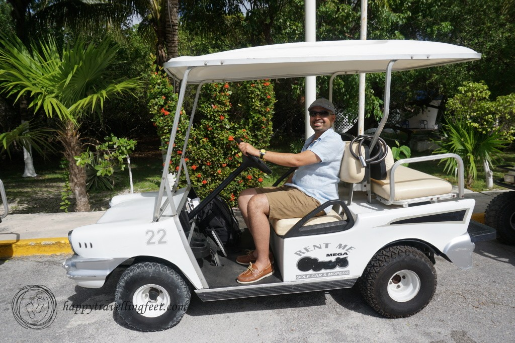 Rent a golf car