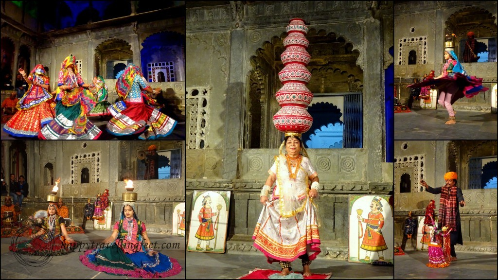 Puppet show and folk dance show Rajasthan