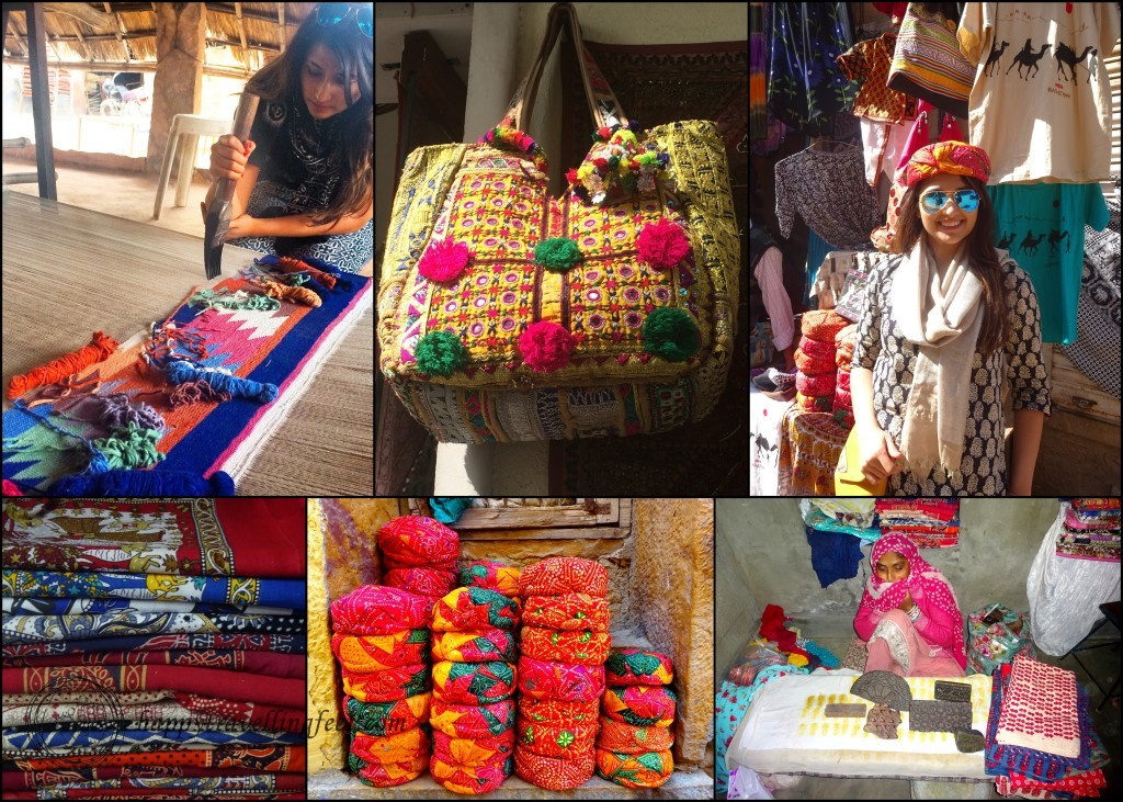Handicraft shopping in Rajasthan