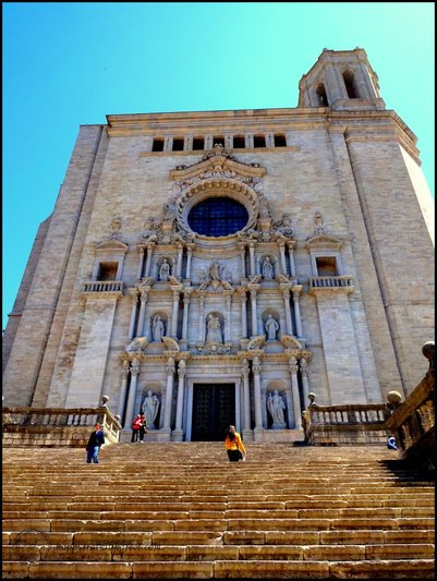 girona spain cathedral