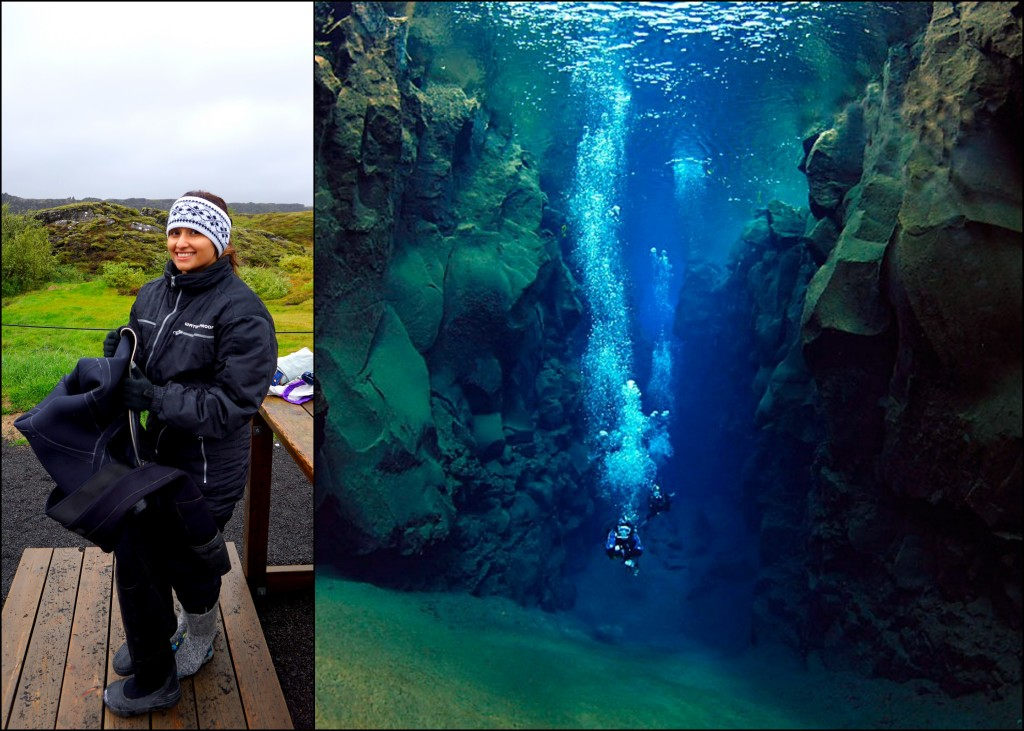 silfra fissure diving Iceland