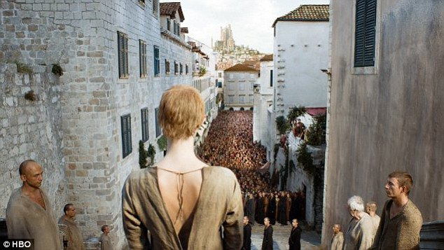 game of thrones walk of shame